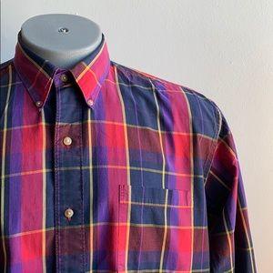Vintage Calvin Klein Plaid Shirt